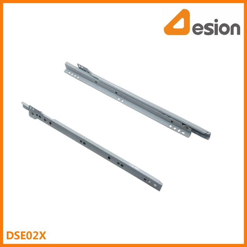 European Self Closing Drawer Slides