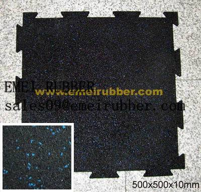 flexible gym rubber paver/flooring