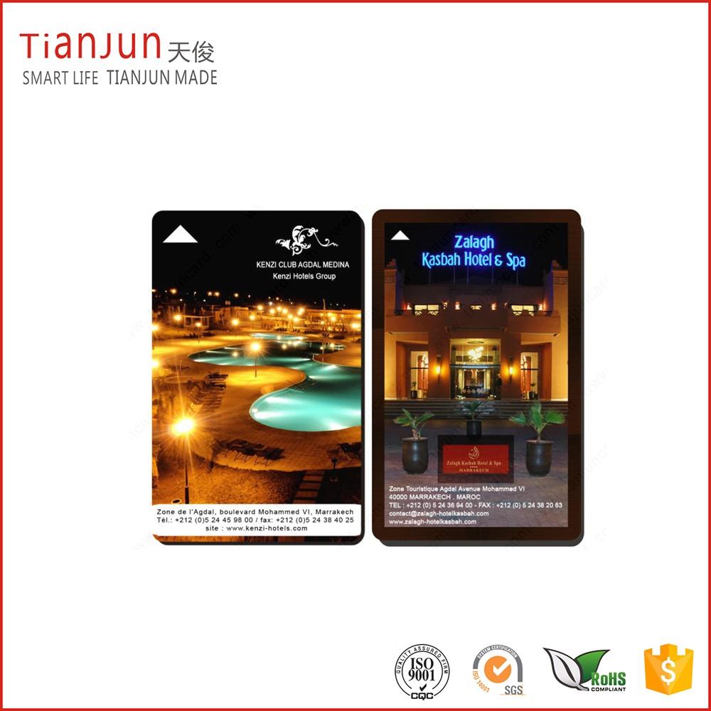 13.56MHz NTAG 213 215 216 NFC PVC Hotel Key Card