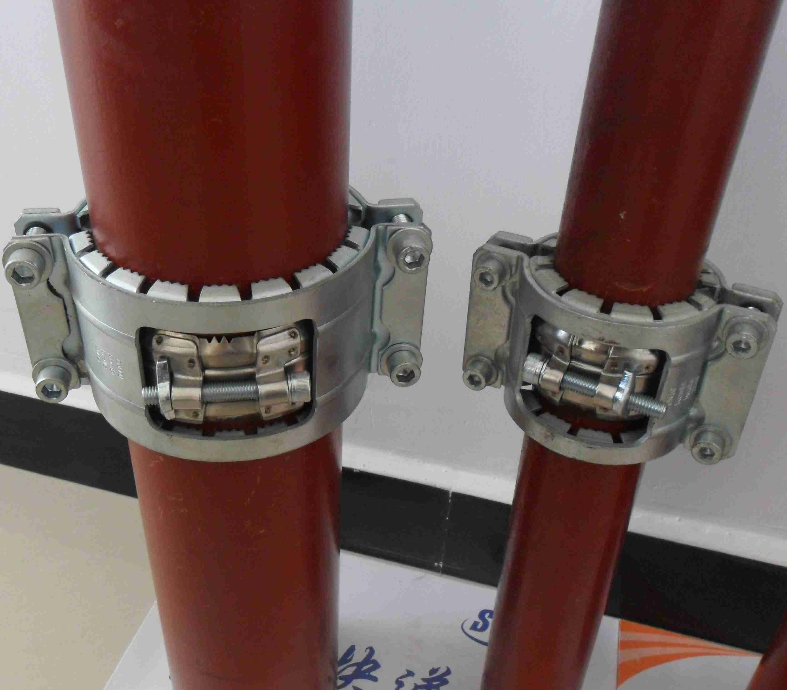 SML cast iron pipe 316 stainless steel coupling