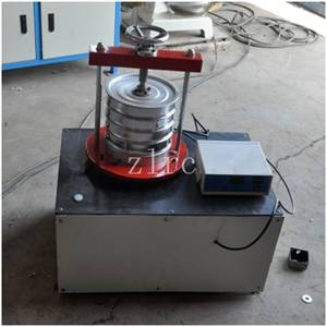 Geotextile effective aperture detector (Y-3)