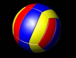 Standard volleyball for the seam of PU with high quality movement