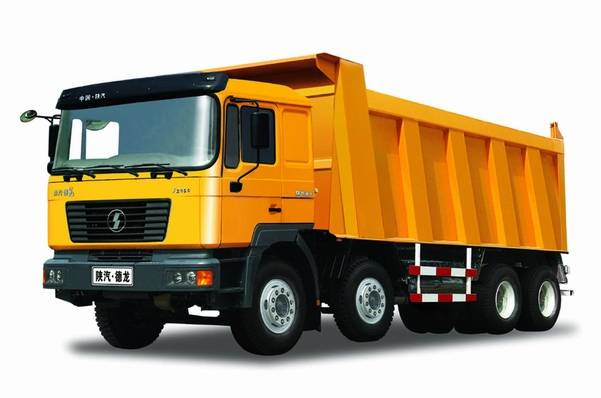 Shacman Dump Truck,35 tons, Man Technology