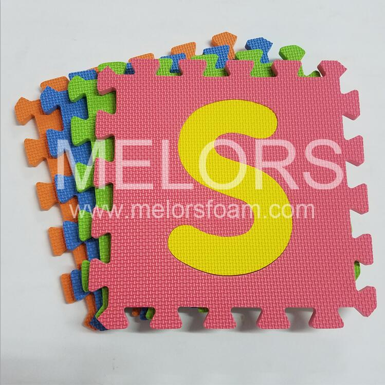 Melors EVA Interlocking Number Puzzle Mat For Baby