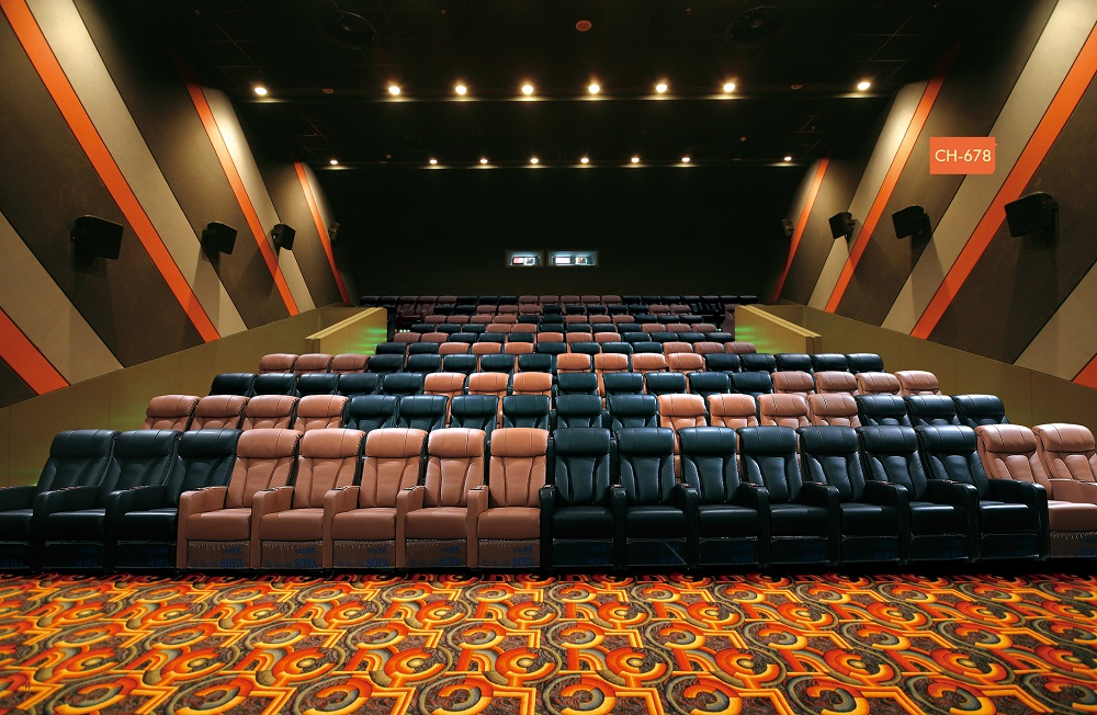 Movie Theater Couch Seating