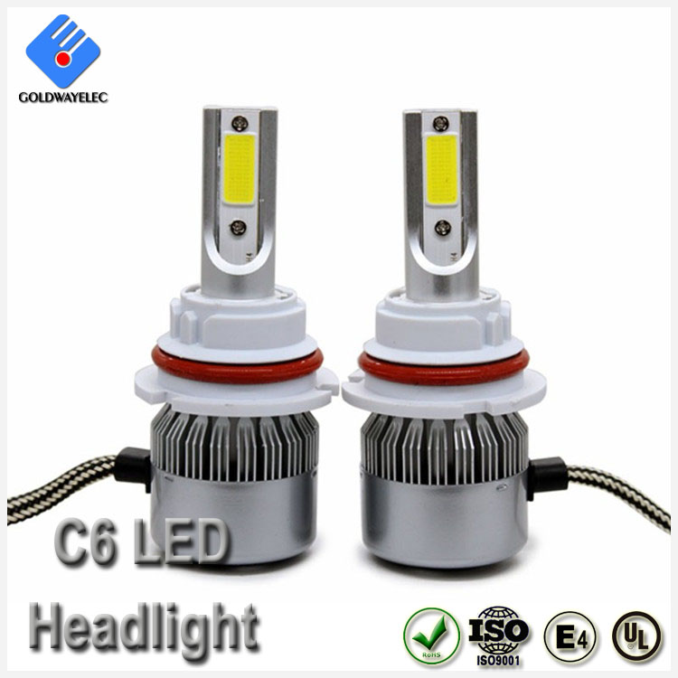 Auto Parts 3800lm 36w H1 C6 Led Headlight