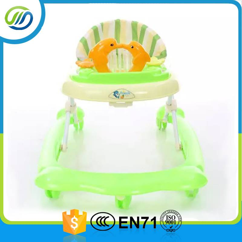 Folded baby walker buggy for baby