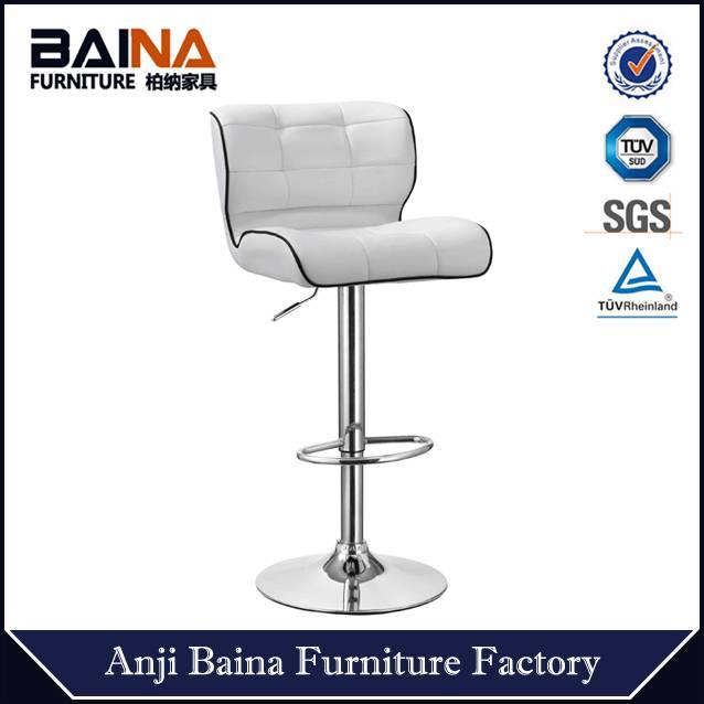 New funky bar stool leather swivel BN-1064-4