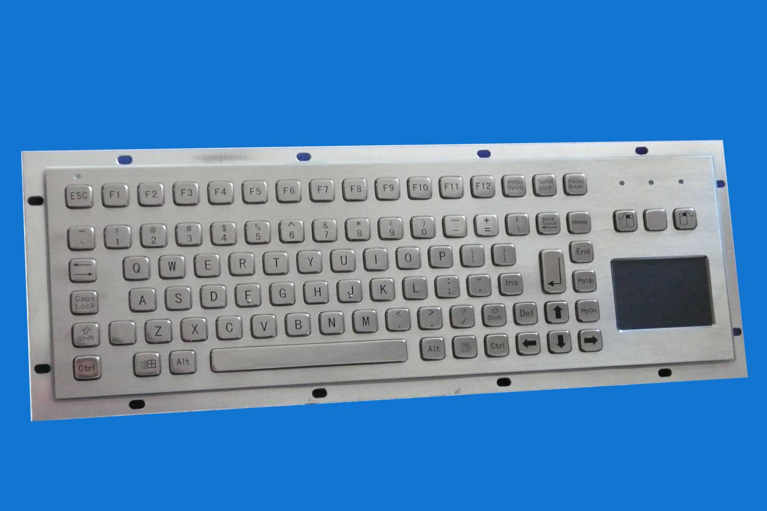 explosion proof computer keyboard, anti-explosion metal PC keyboard, intrinsically safe computer key