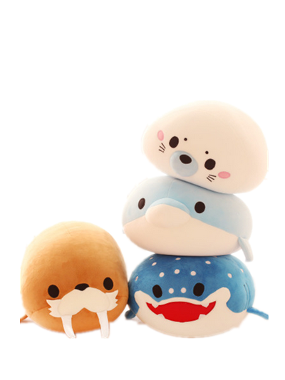 OEM Accept Stuffed Plush Sea Animal, Gift for Kids