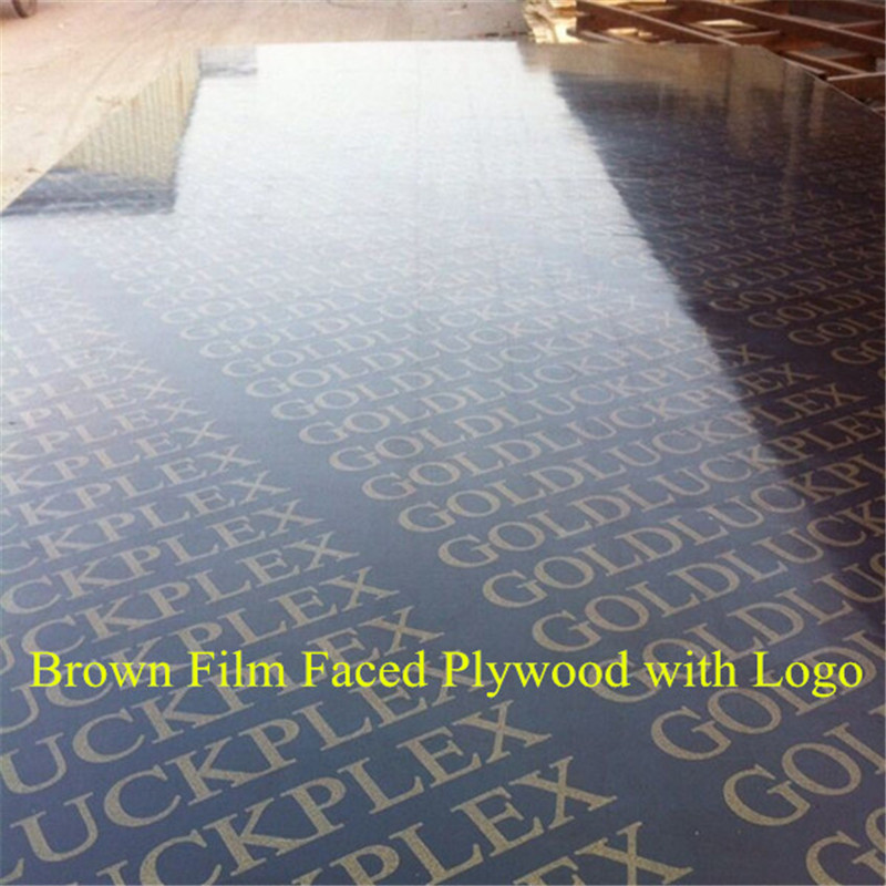 12mm,18mm Brown/Black Film Faced Plywood with Logo