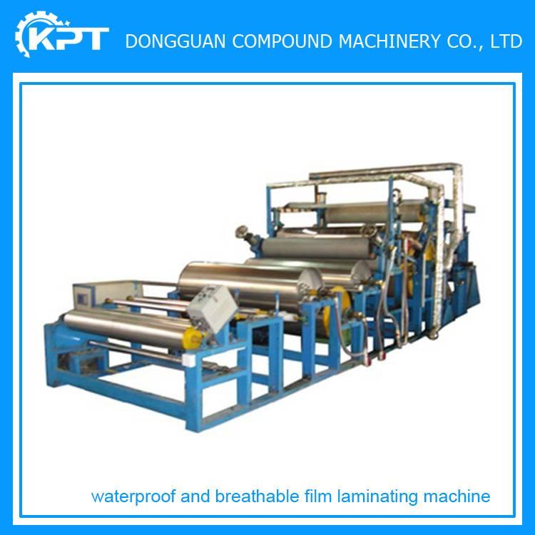 tpu waterproof film fabric laminating machine