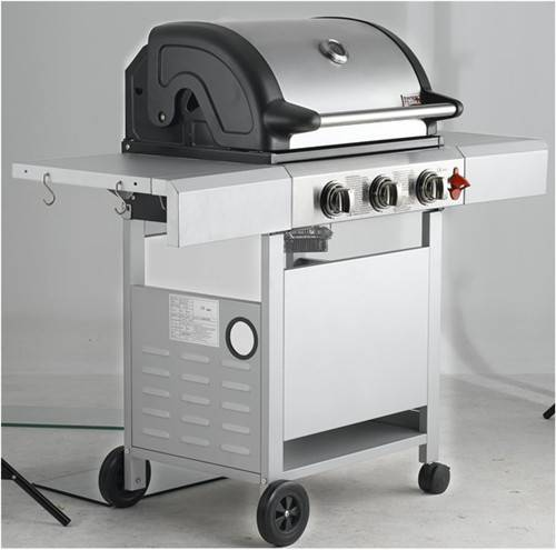 Gas BBQ GRILL WITH OUTSIDEDOOR