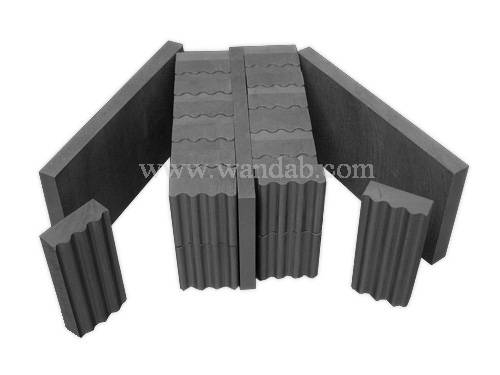 Graphite sintering mold for diamond tools