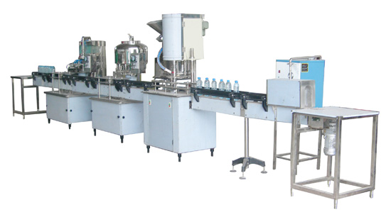 1000-3000B/H Bottled Water Filling Machine