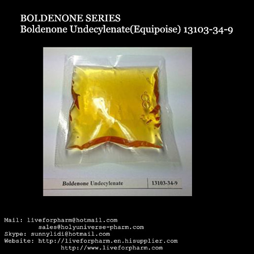High Quality Boldenones Undecylenate / Liquid EQ/Equipose/CAS13103-34-9