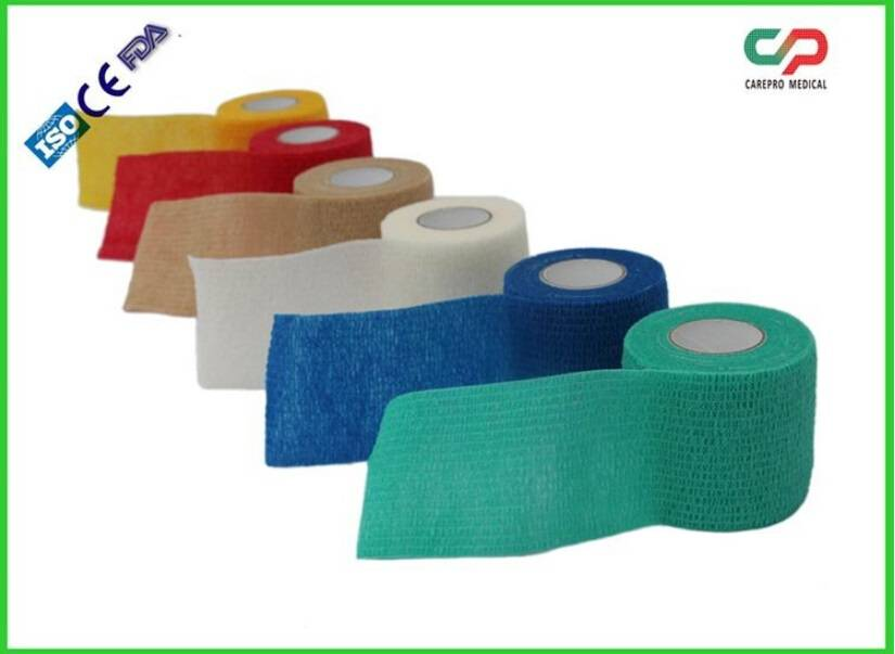 Latex Cohesive Elastic Bandage Self Adhesive Bandage