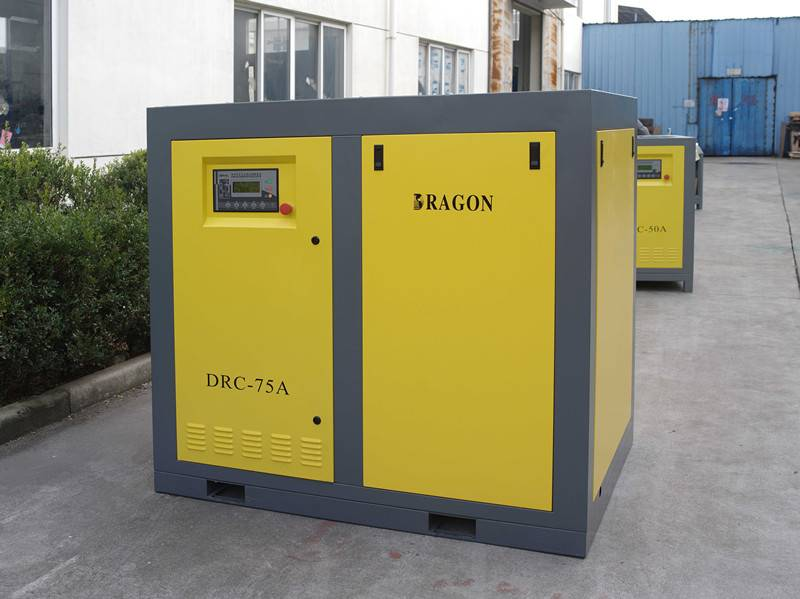 effective DRC-15A  screw air compressor by Dragon