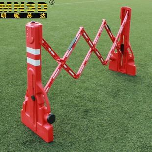 flexible plastic fence barriers plastic retractable road barricade