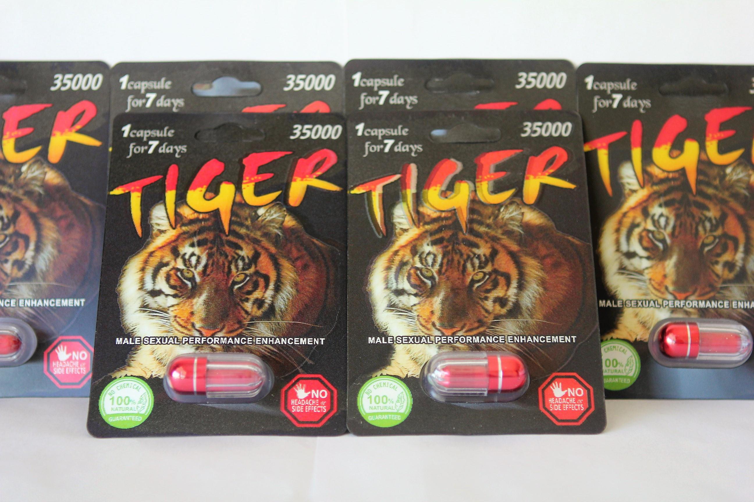 Brand New Tiger 35000 3D Male Enhancer Pill