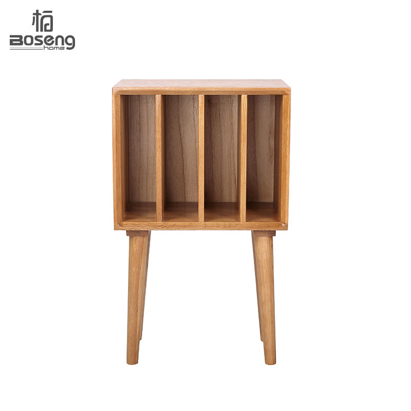 Simple wood Bookshelf Solid white oak