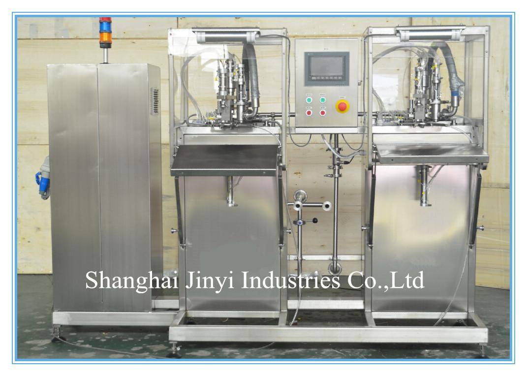 JFD BIB bag in box filling machine for orange juice(double heads)