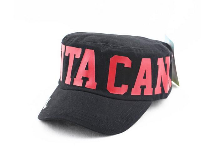 letter printing flat top CS cap manufacturers army cap logo