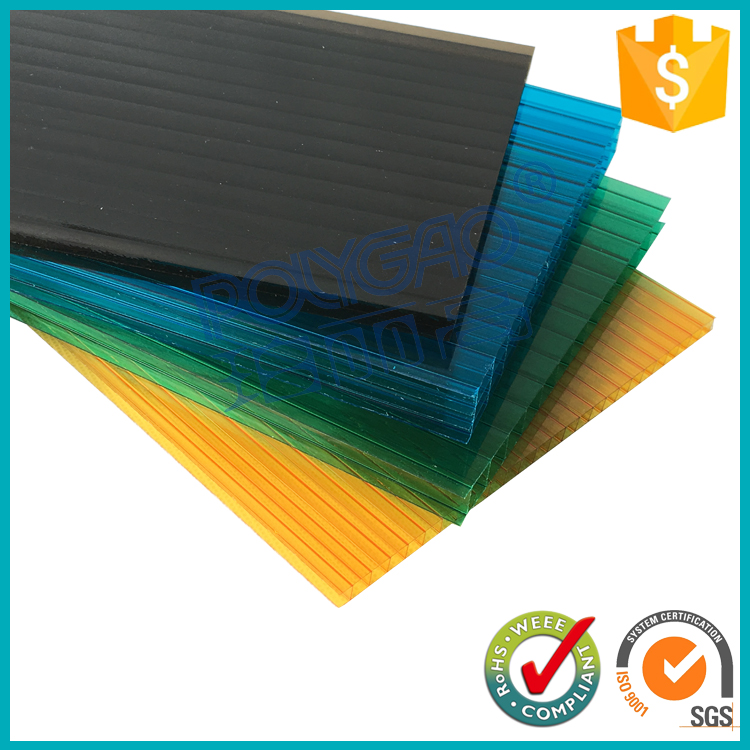 Factory price colored polycarbonate sheet for building