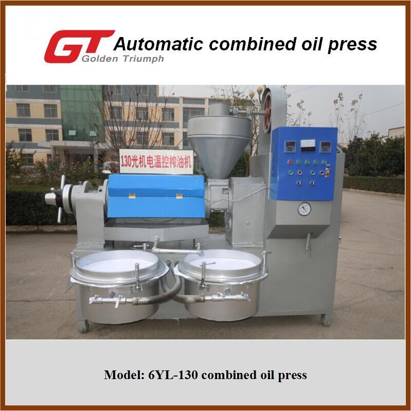 Automatic oil press