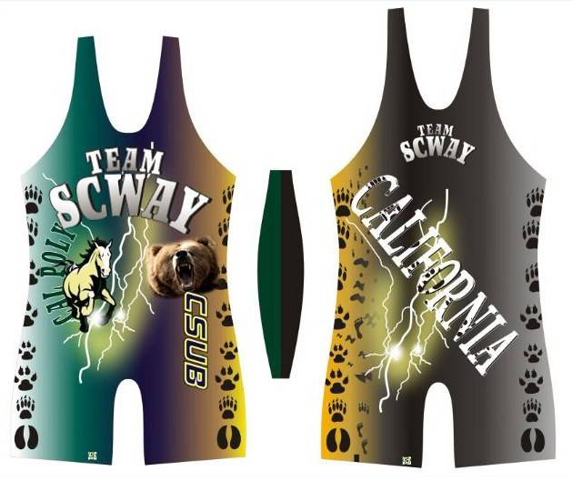 2015 China Professional Sublimation Spandex Cool Dry Wrestling Singlet