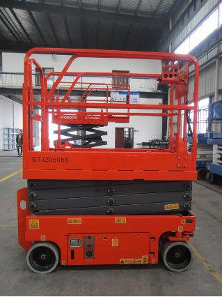 Scissor Lift Man Lift with 6m Platform Height 230kg Load Capacity Indoor Model