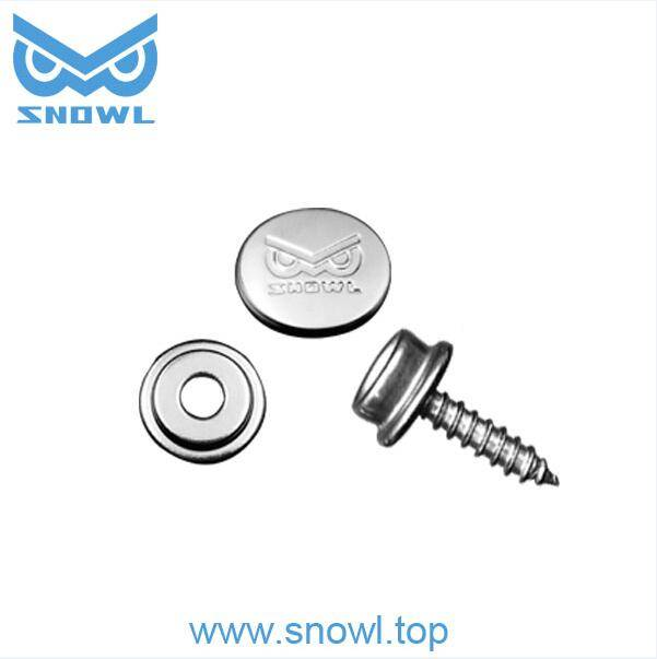 316 stainless steel canvas snap, yacht seat screw snap button