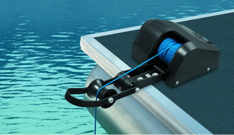 Marine Boat 12V Electric Anchor Winch Freshwater w/Wireless Remote 35LBS