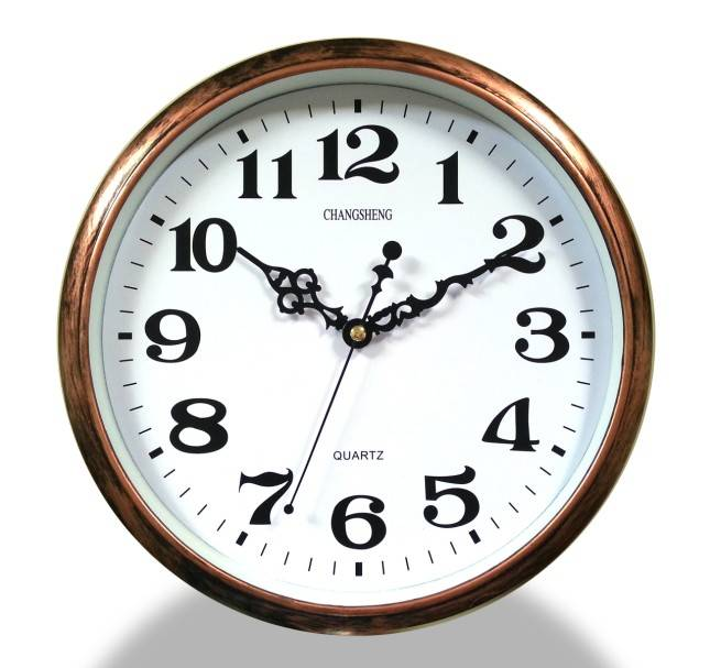 decoration  wall clock  bronze clock  factory sale