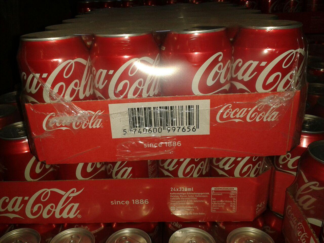 Coca Cola 330ml x 24 Cans