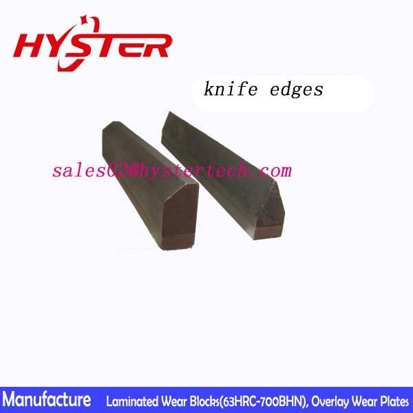 weldable cutting edges chrome carbide Knife edge