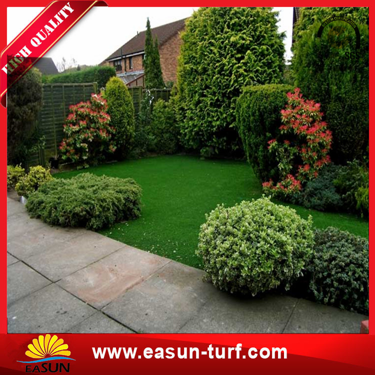 plastic grass and artificial synthetic lawn grass for graden and landscaping-Donut