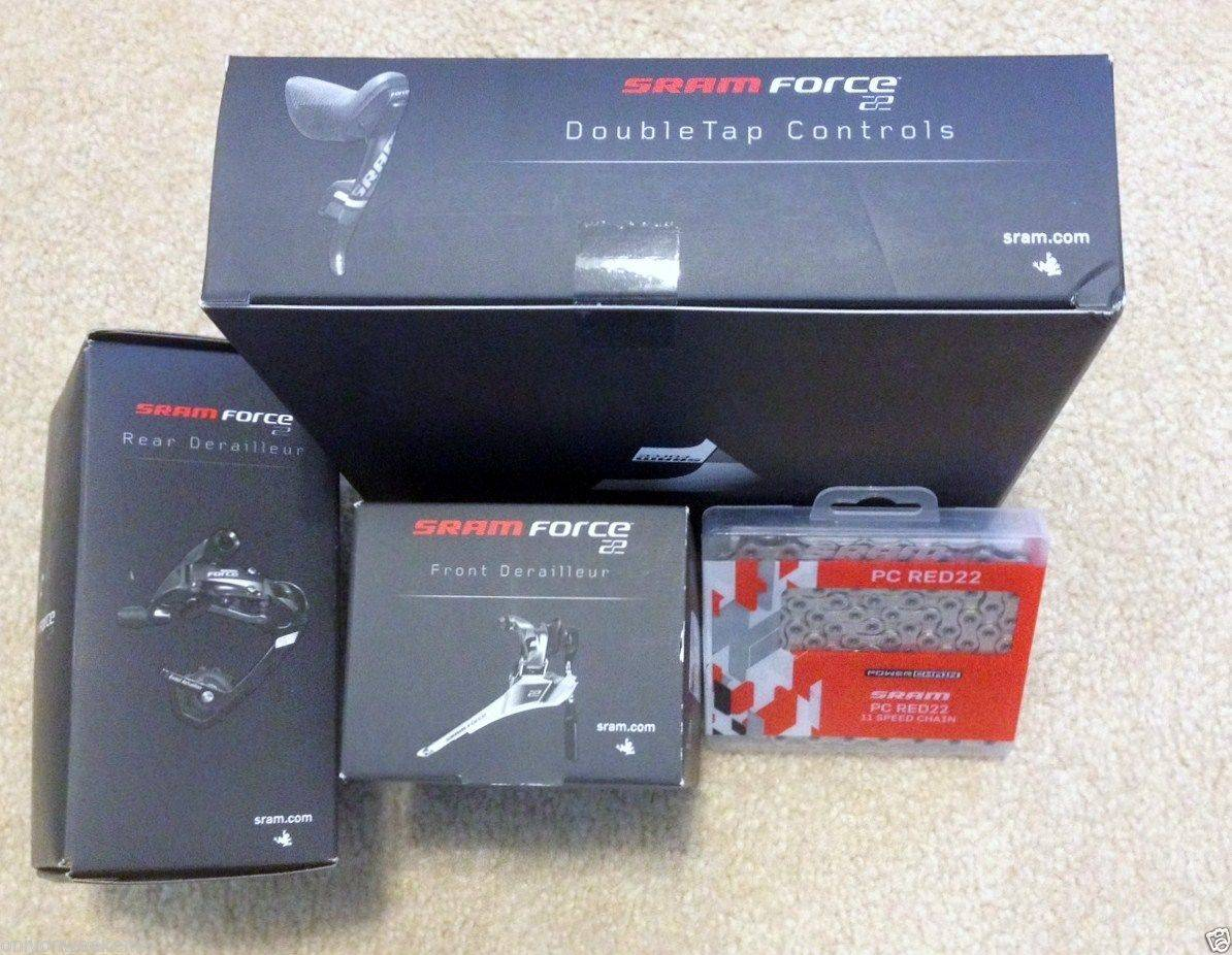 SRAM Force 22, WiFli ,11 speed Group Groupset Kit , PC RED 22 Power Chain