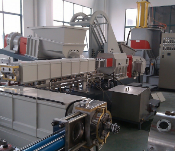 hot sale XLPE compound making machine with Two Stages Extruder