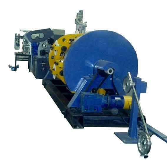 CE ISO9001 Multi-core Optical Cable Production Line 12-reel Planetary Stranding Machine