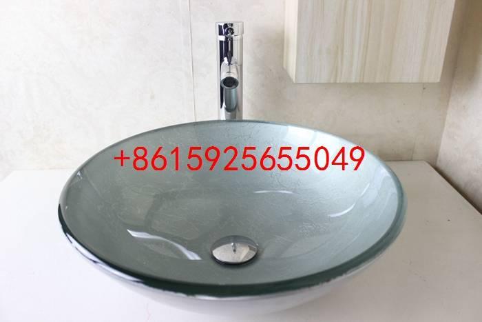 bathroom basin,glass sink,wash basin vessel sink wash sink bathroom cabinet sink n-736