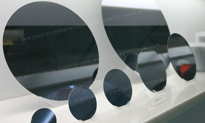 test Grade 4-Inch Polished Silicon Wafer 100mm Si Wafers