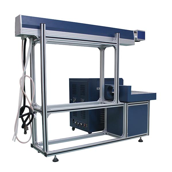 Glass Tube Split CO Glass Tube Laser Marking Machine