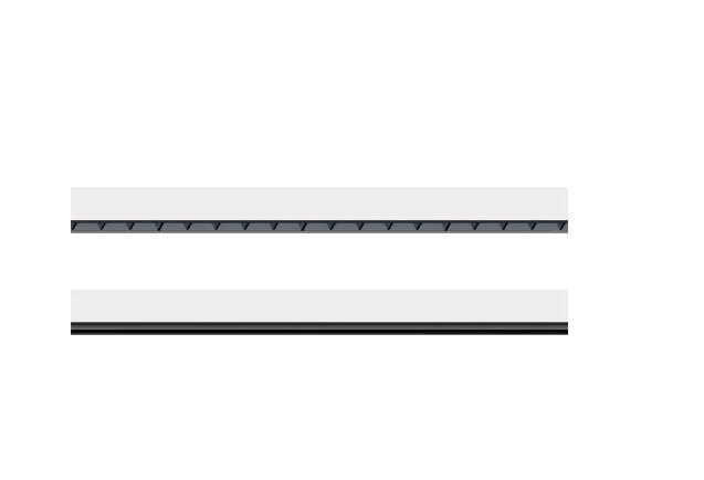 40w/50w/60w/70w IP20 led linear grille lighting ceiling mounted light for Offices, schools,