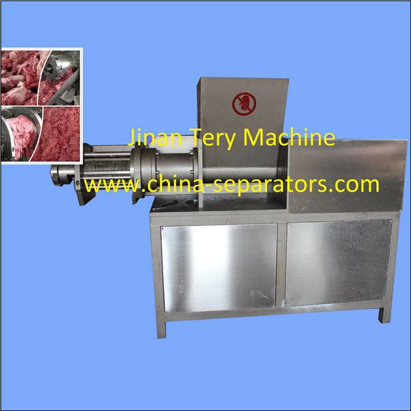 Commercial use China automatic chicken bone mincer