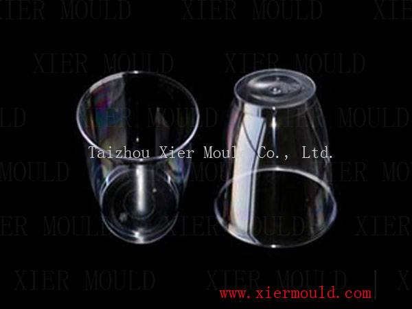 Plastic Transparent cup mould