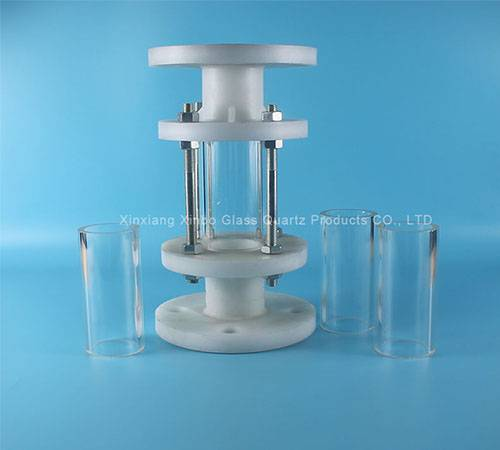 chemical lab borosilicate colored glass rod factory