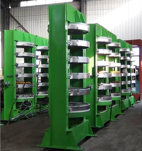 4-6 Layers Hydraulic Vulcanizer Curing Press