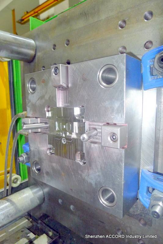 the plastic injection mold