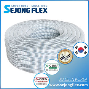 Clear Standard Ducty Suction Hose